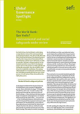 Op Een Bankje Sef.Sef Globalisierung Politisch Gestalten 8 2013